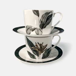 "Coffret 4 tasses ""Birds of..."