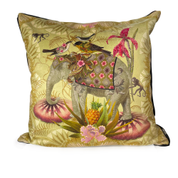 """Coussin """"Parade Elephant"""""""